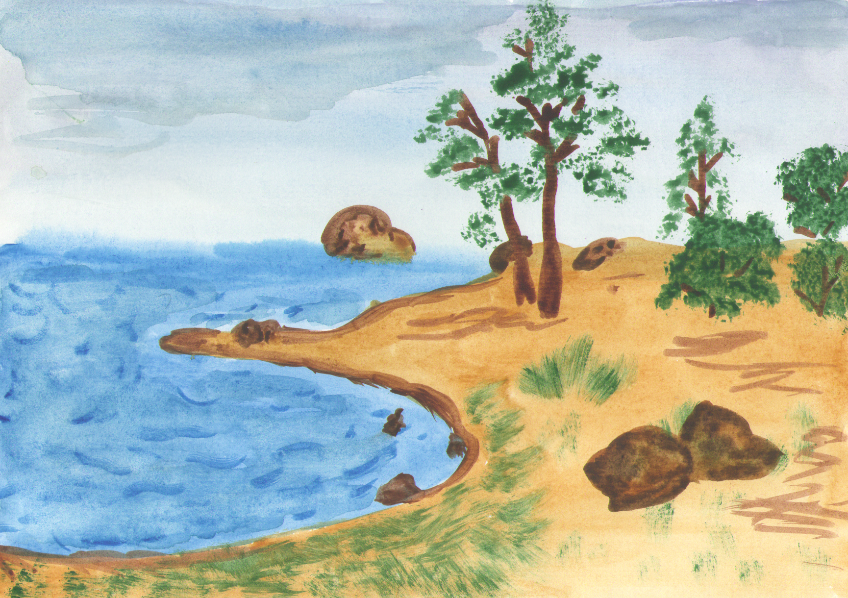 рисунки картинки природа